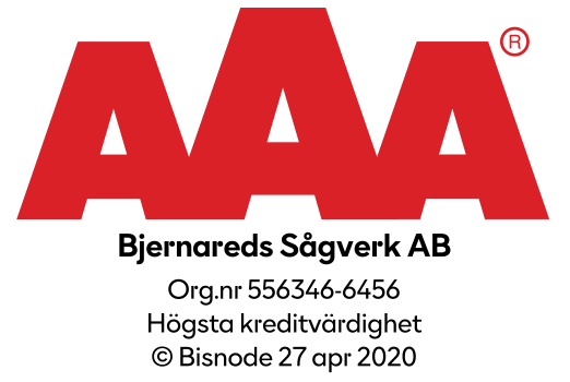 Bjernareds Sågverk - aaa högsta kreditvärdighet