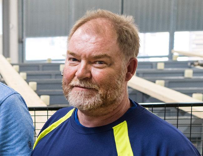 Bengt-Ove Johansson - Ansvarig för utlastning