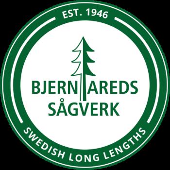 Bjernareds Sågverk - logotyp i emblem